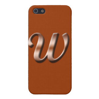 Speck-Kasten des Monogramm-W iPhone 5 Cover