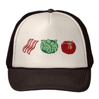 Speck-Kopfsalat u. Tomate - das BLT! Kultmütze