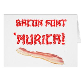 Speck-Schriftart 'Murica! Karte
