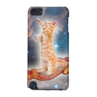 Speck-surfende Katze im Universum iPod Touch 5G Hülle
