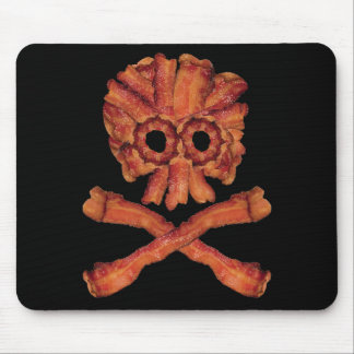 Speck-Totenkopf mit gekreuzter Knochen Mousepad