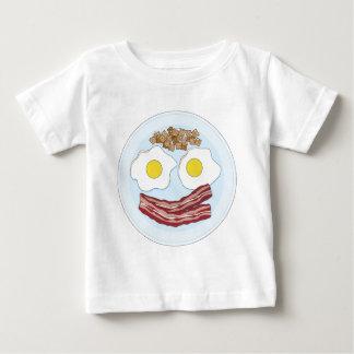 Speck und Eier Baby T-shirt