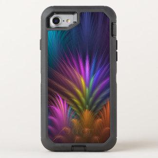 Spectacular mit Blumen gefärbt OtterBox Defender iPhone 8/7 Hülle