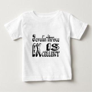 Speer-Wurf ist ausgezeichnet Baby T-shirt