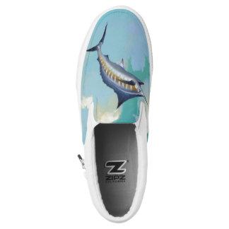 Speerfisch-Himmel Slip-On Sneaker