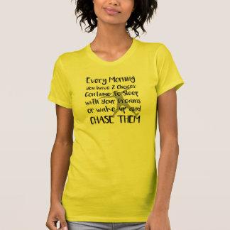 SpeerThrow träumt Bahn-Feld-Shirt T-Shirt