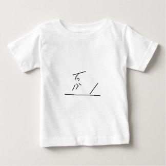 speerwerfer weitwurf speerwerfen baby t-shirt
