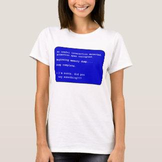 Speicherausdruck - Frauen T-Shirt