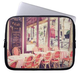 Speisen im Paris-Al-Fresko Laptopschutzhülle