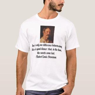 Speisen und Leben T-Shirt