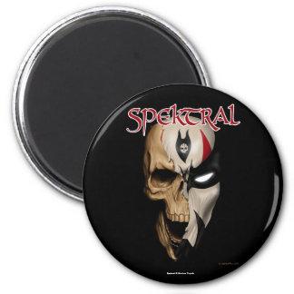 """Spektral """"toter oder lebendiger"""" Magnet Runder Magnet 5,7 Cm"""