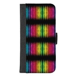 Spektrum-farbiger iphone Geldbörsenkasten iPhone 8/7 Plus Geldbeutel-Hülle