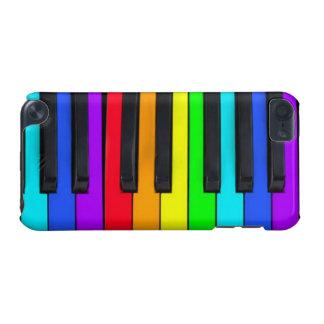 Spektrum färbt Klavier-Tastatur iPod Touch 5G Hülle