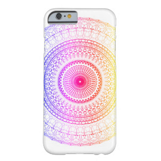 Spektrum-Mandala iPhone 6/6S Fall Barely There iPhone 6 Hülle
