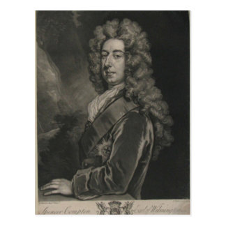 Spencer Compton, Graf von Wilmington Postkarte