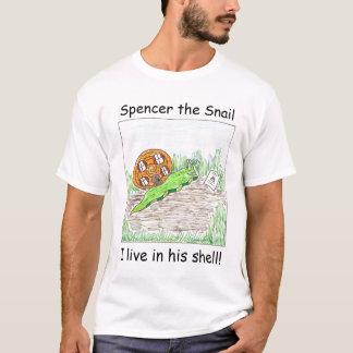 Spencer die Schnecke - ich lebe in seiner Muschel T-Shirt