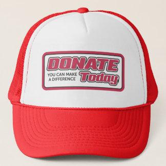 Spendenhut, für Verkauf! Truckerkappe