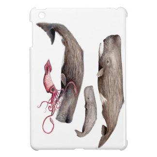 Sperm whale Trio iPad Mini Hülle