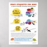 """Sperren Sie Etikette für Hundeplakat - 22 x 32"""" Poster"""