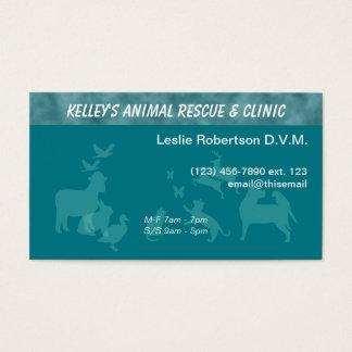Spezialisten-Doktor Tierdienstleistungen U-Auswahl Visitenkarte