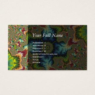 Speziell - Fraktal-Kunst Visitenkarte