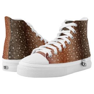 Spezielle Browen hohe Spitzen Hoch-geschnittene Sneaker