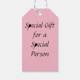 Spezielle Geschenk-Umbauten für spezielle Personen Geschenkanhänger