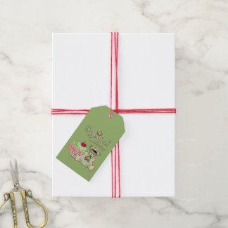 Spezielle Lieferungs-Kuchen-Bär Geschenkanhänger