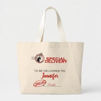 Spezielle Lieferungs-Tasche Sankt Jumbo Stoffbeutel
