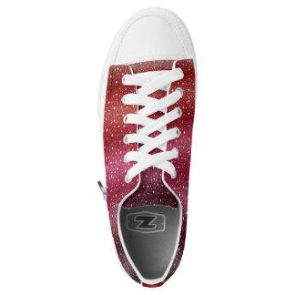 Spezielle rote niedrige Spitzen-Schuhe Niedrig-geschnittene Sneaker
