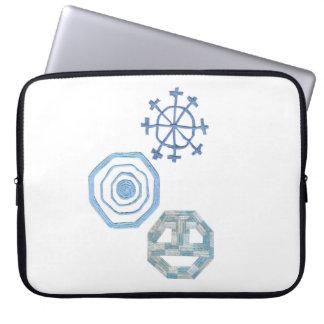 Spezielle Schneeflocke 15 Zoll-Laptop-Hülse Laptopschutzhülle