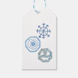 Spezielle Schneeflocke-Geschenk-Umbauten Geschenkanhänger