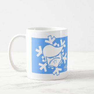 Spezielle Schneeflocke Kaffeetasse