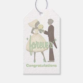 Spezielle Tagesbraut und -bräutigam Geschenkanhänger