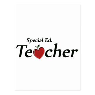 Spezieller Ed. Lehrer Postkarte