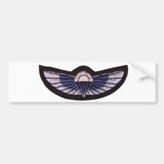 Spezieller Fluglinienverkehr-Fallschirm-Flügel Autoaufkleber