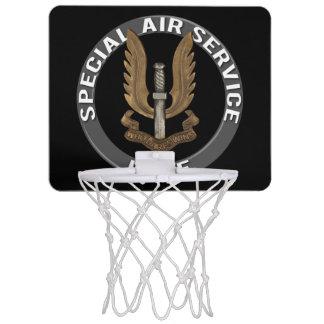 Spezieller Fluglinienverkehr (SAS) Mini Basketball Netz