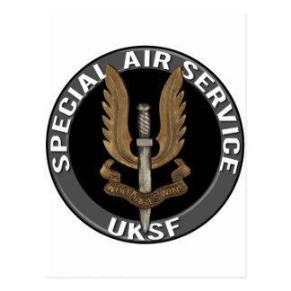 Spezieller Fluglinienverkehr (SAS) Postkarten