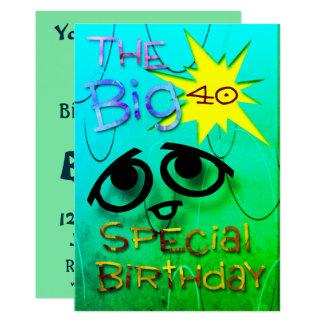 Spezieller Geburtstag Karte