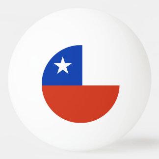 Spezieller Ping pong Ball mit Flagge des Chilen Tischtennis Ball