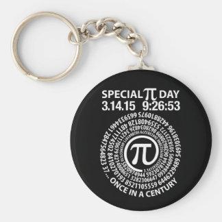 Spezieller PU-Tag 2015, Spirale Schlüsselanhänger