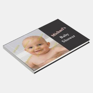 Spezielles Andenken schaffen Ihre eigene Schablone Gästebuch