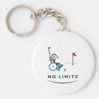 Spezielles Golf-Mädchen Schlüsselanhänger