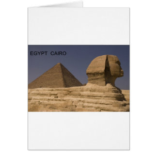Sphinx Ägyptens Kairo Giseh (St.K) Karte