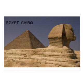 Sphinx Ägyptens Kairo Giseh (St.K) Postkarte