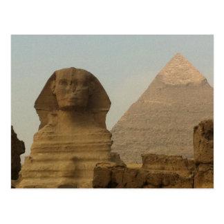 Sphinx Postkarte