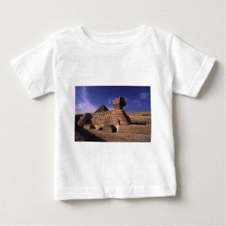 Sphinx und Pyramiden in Giseh Kairo Ägypten Baby T-shirt