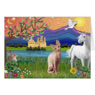 Sphynx Katze 1 - Fantasie-Land Karte
