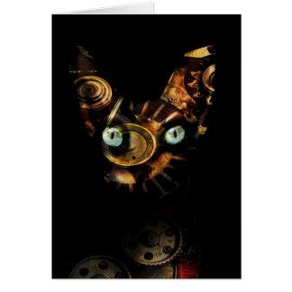 Sphynx Katze Karte