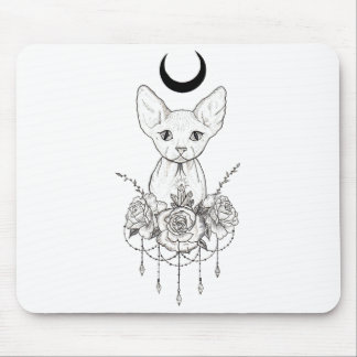 Sphynx Katze Mousepad
